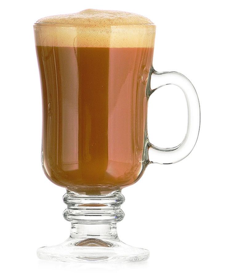Caneca Irish Grande Café Gelado 230 ml Taça Coffee Capuccino Nevada