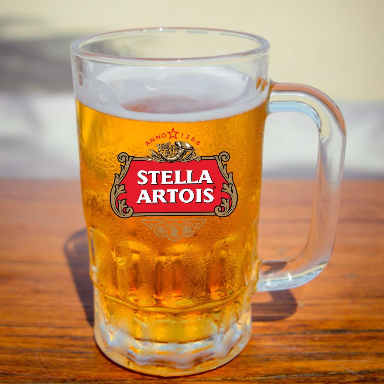 Caneca Para Cerveja Chopp em Vidro 350ml