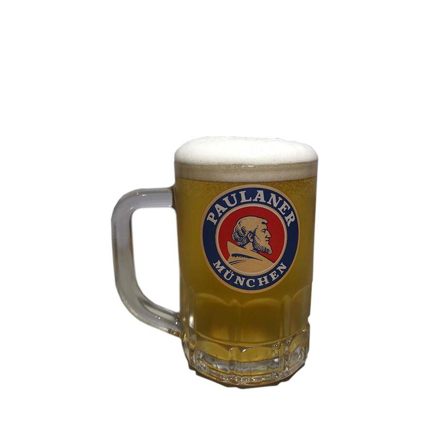 Caneca Para Cerveja Chopp Paulaner Munchen 300ml