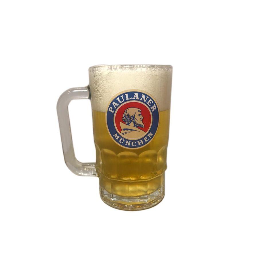 Caneca Para Cerveja Chopp Paulaner Munchen 370ml