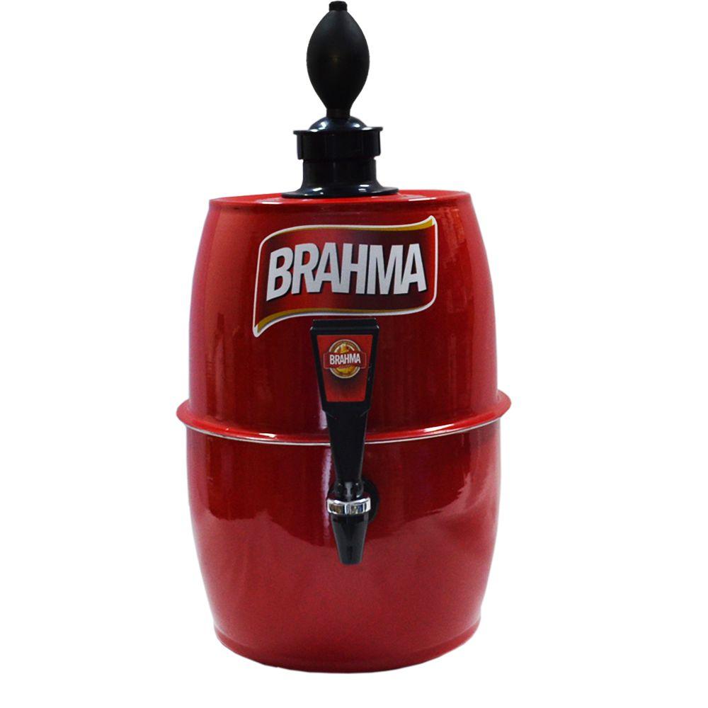 Chopeira Doméstica Portátil 5,2 Litros a Gelo Vermelha BRH -- Chopp Master