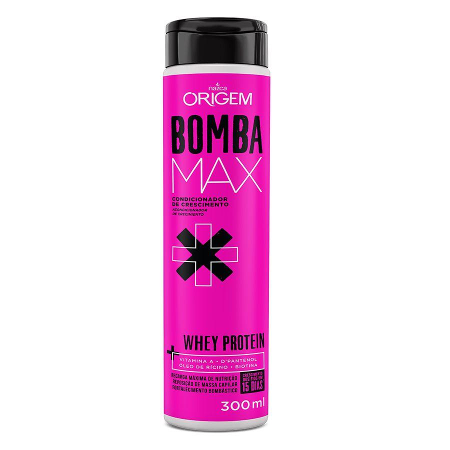 Condicionador De Crescimento Origem Bomba Max Whey Protein 300ml