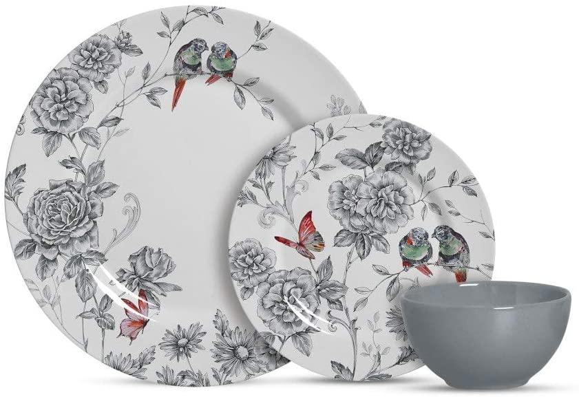 Conjunto de Jantar Cerâmica 12 peças Volare Alleanza