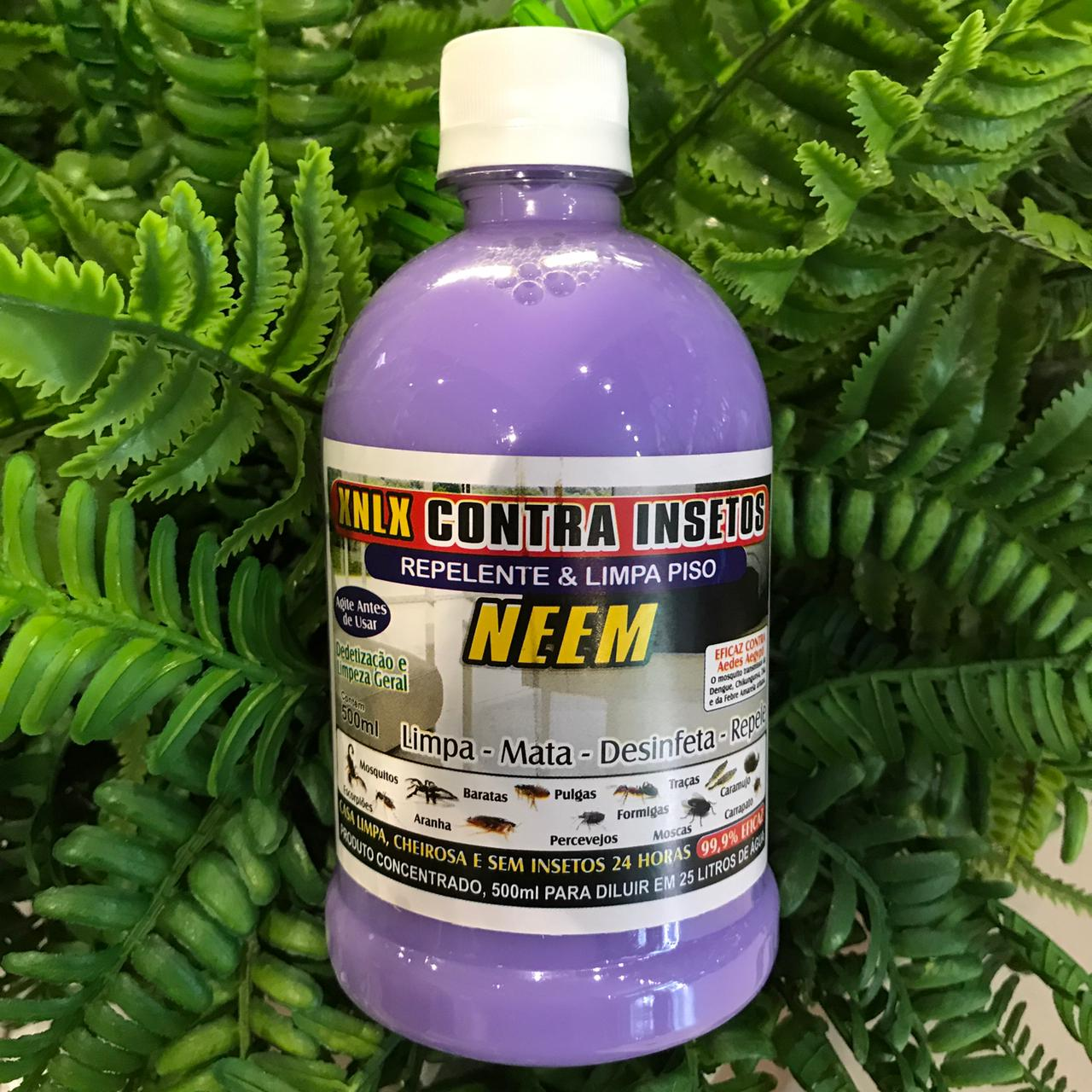 Repelente e Limpa Piso Contra Insetos Repele, Desinfeta e Limpa 500g