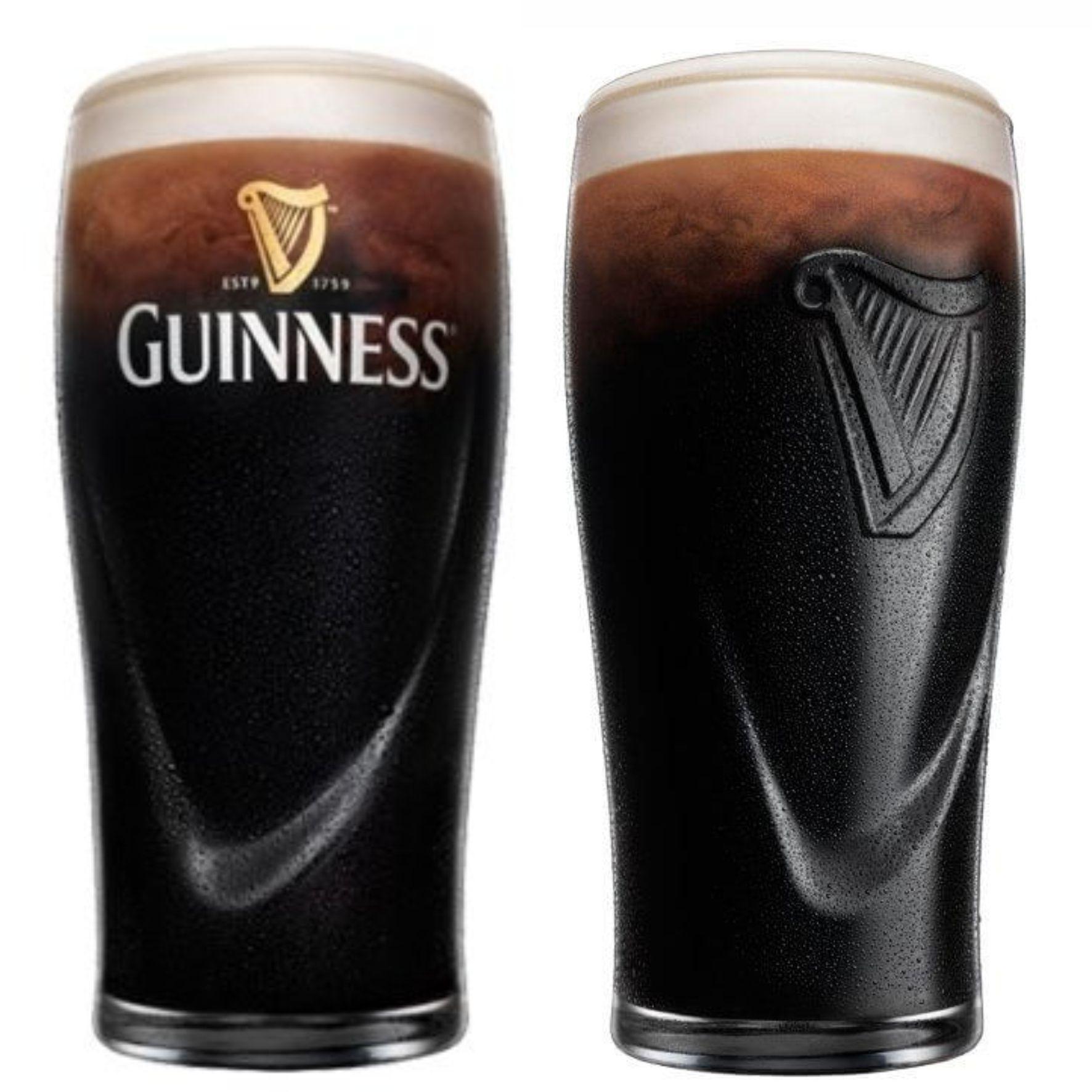 Copo Pint Cerveja Guinness em Vidro  510ml