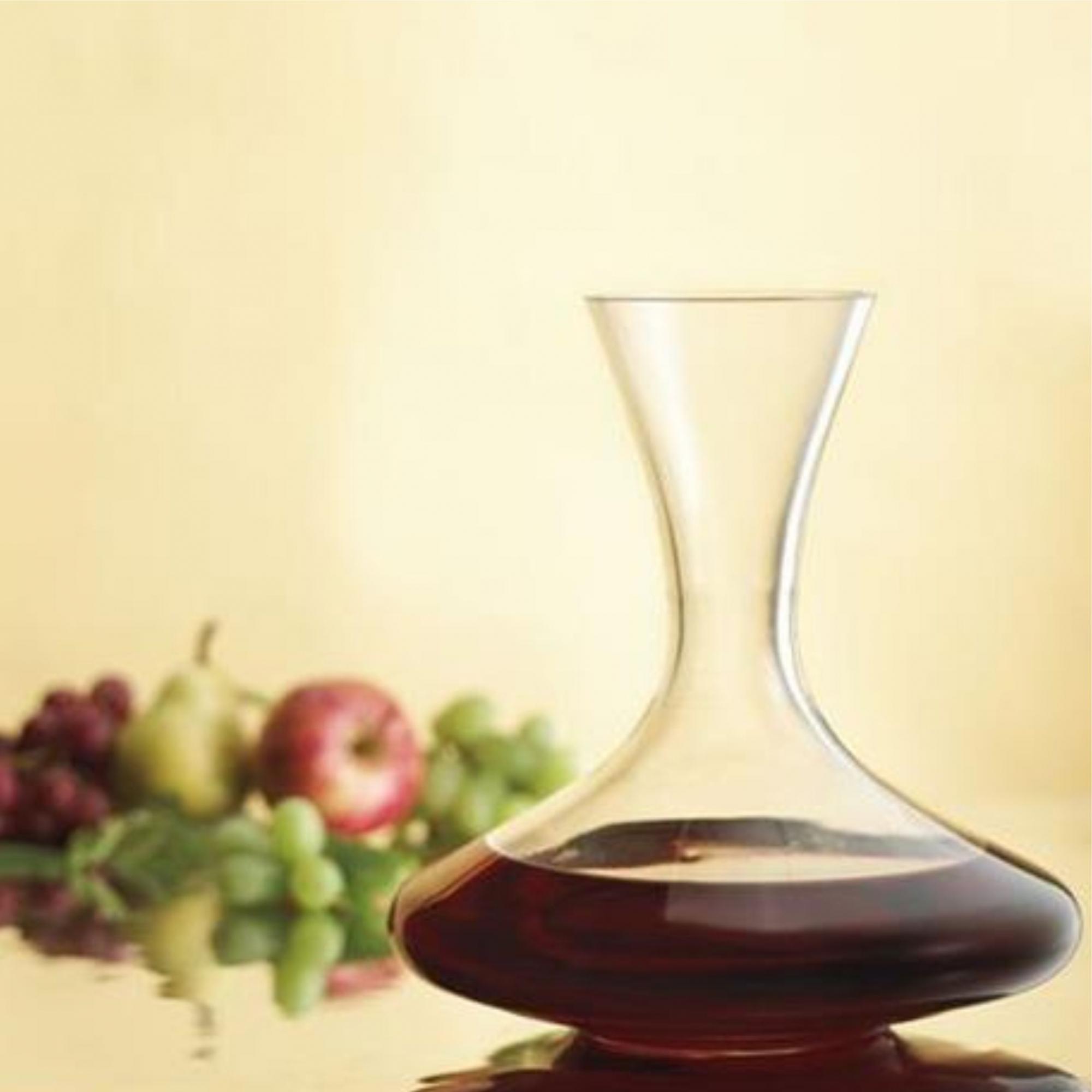 Decanter em Vidro para Vinho com Corte Fino 1000ml