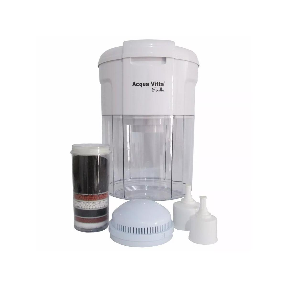 Filtro de Água Mineralizador Acqua Vitta Estillo para Bebedouros 15L