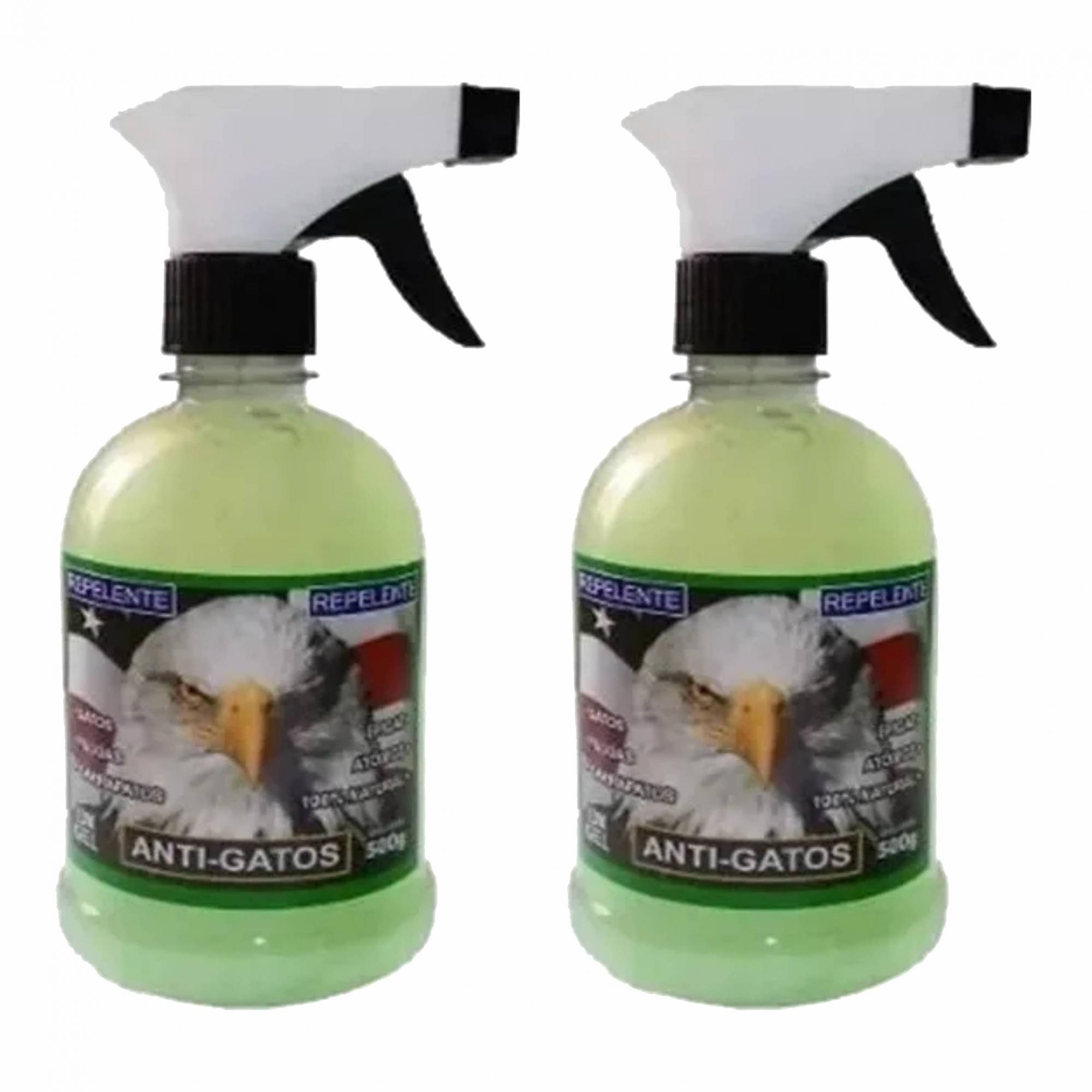 Kit 2 Repelentes Educador Sanitário para Gatos que Arranham Sofá 500g