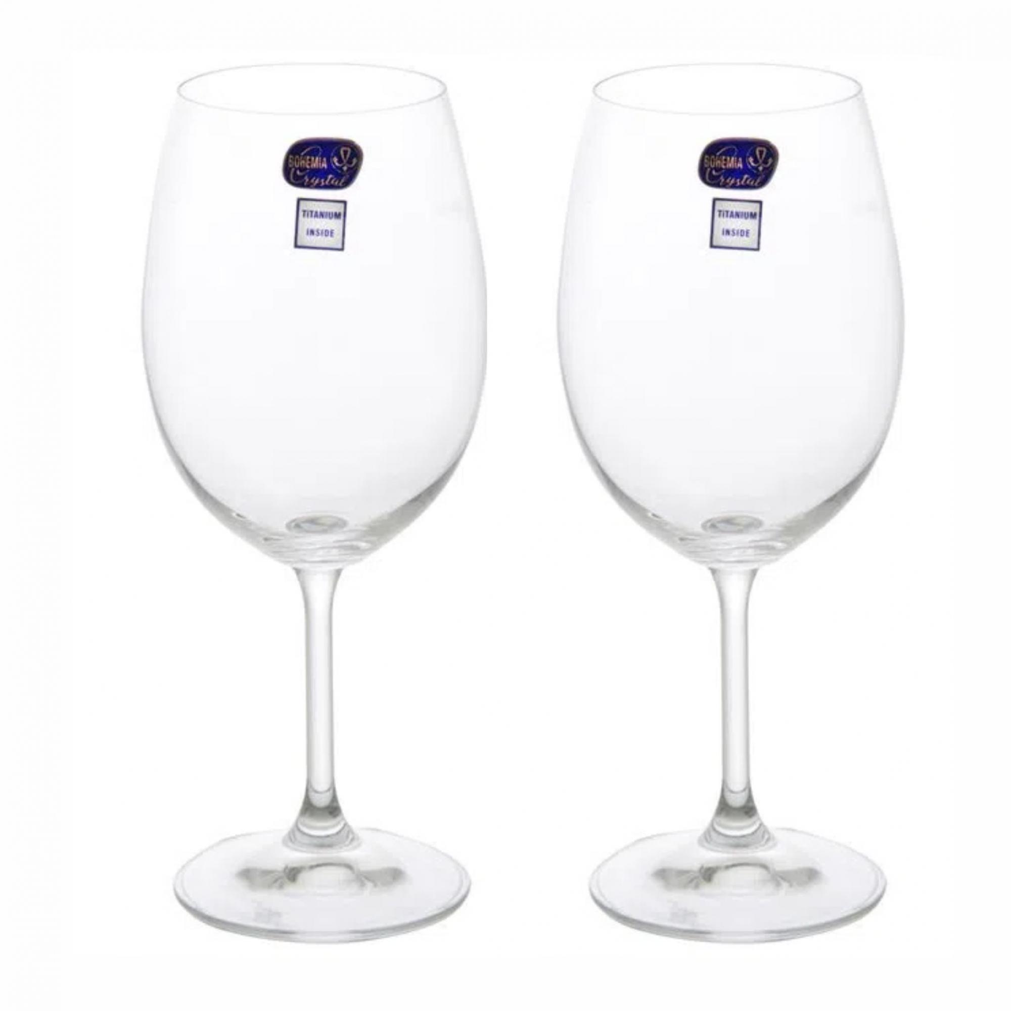 Kit 2 Taças de Vinho Bohemia 580 ml