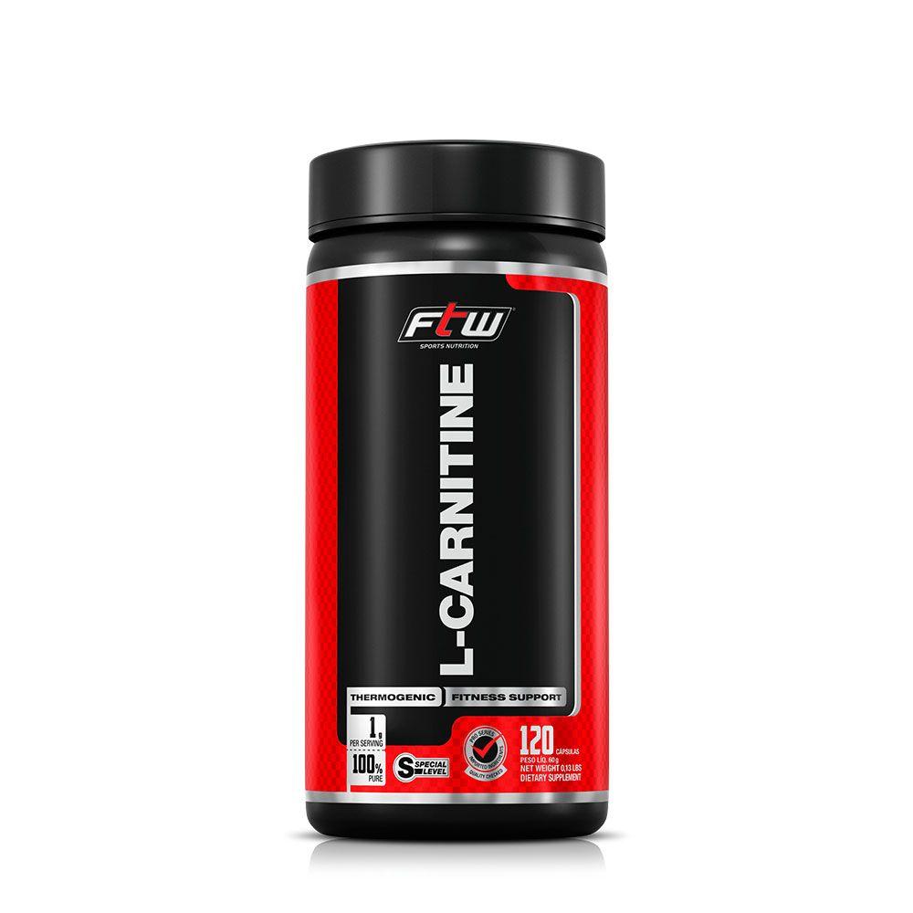 L-Carnitine 120 Cápsulas FTW