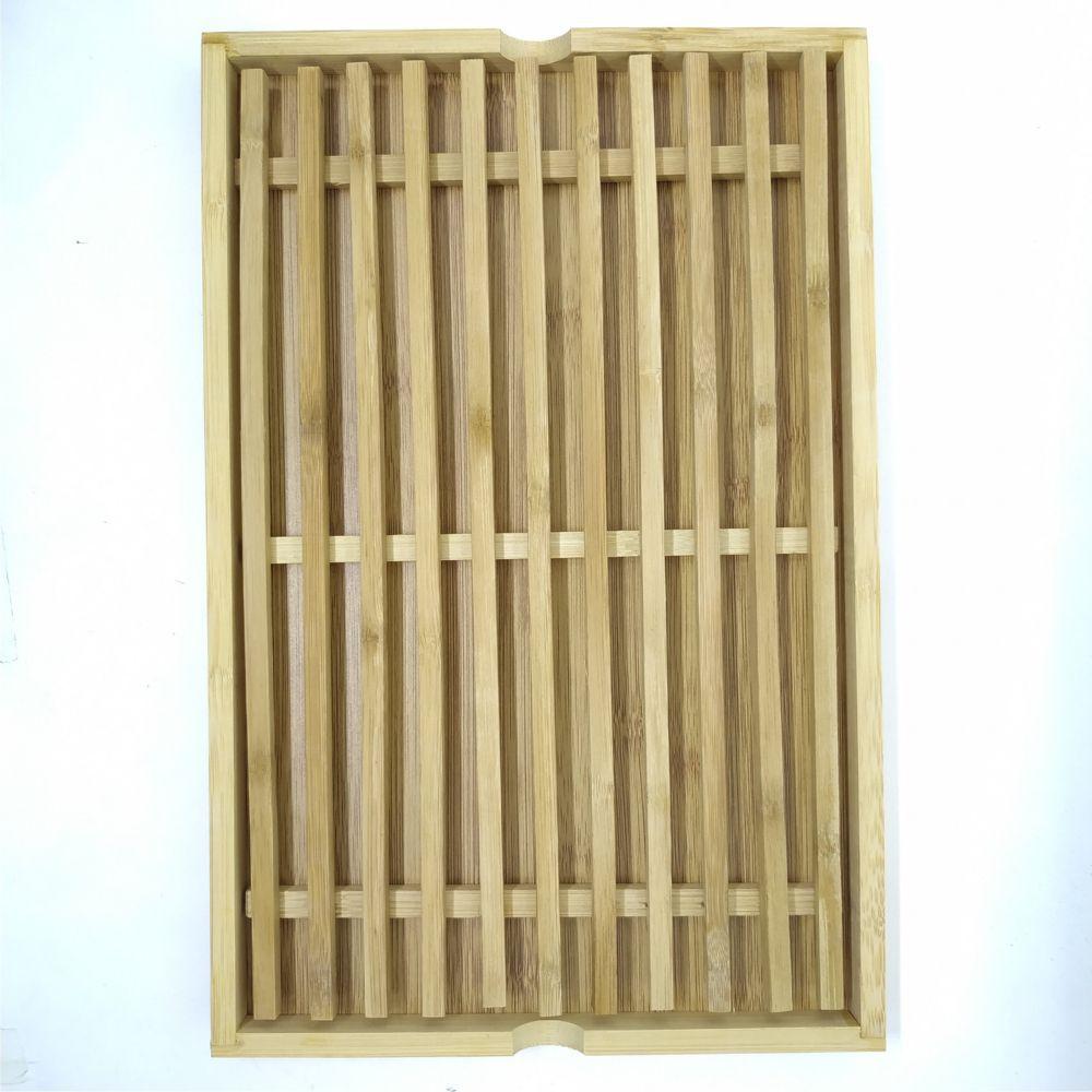Migalheira para Pão / Bolo em Bambu 33x22cm
