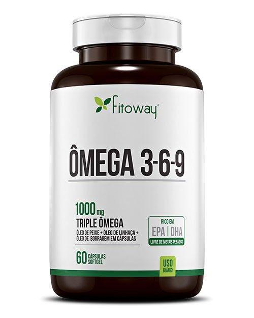 Ômega 3-6-9 Fitopharma com 60 Cápsulas