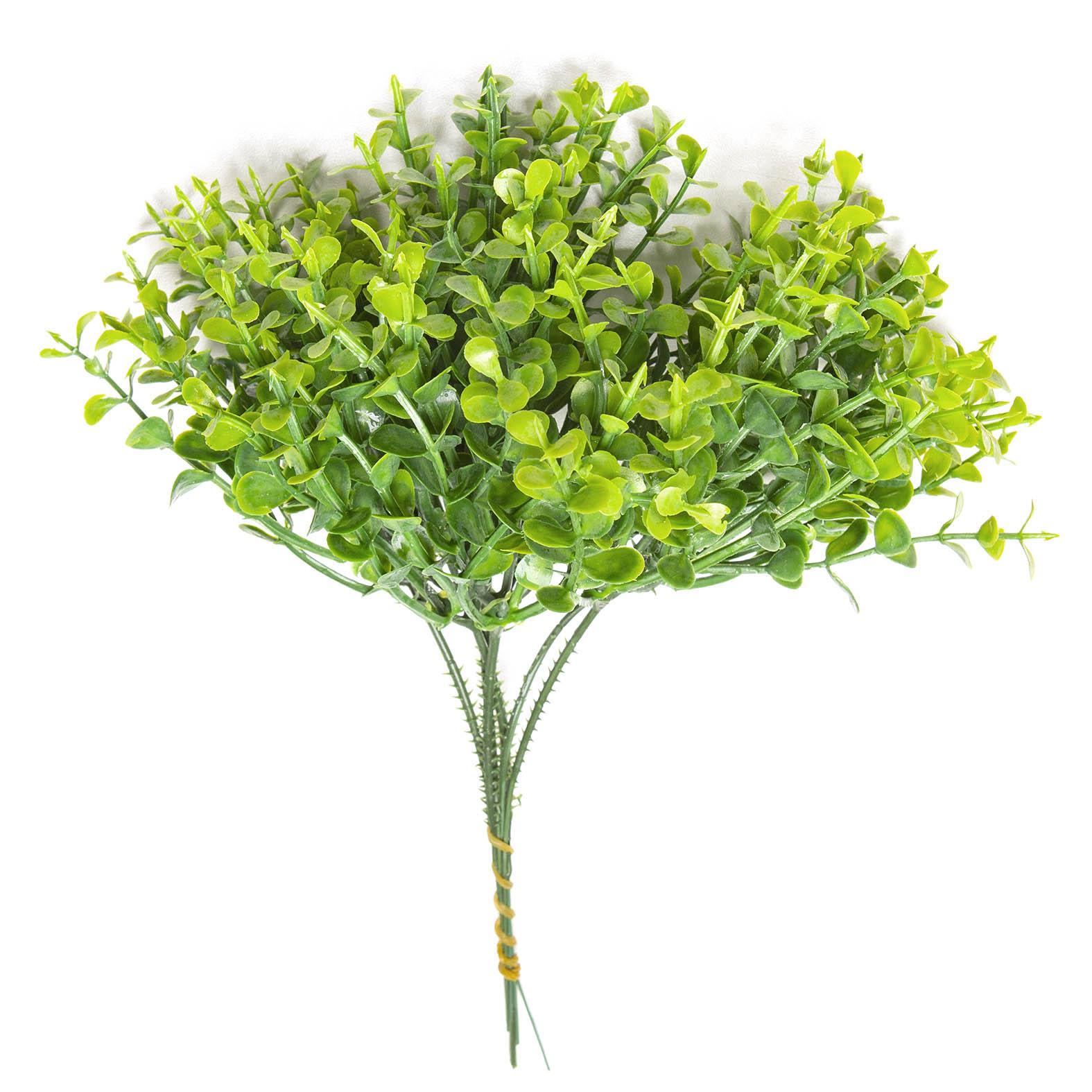 Pick Folhas Verdes P Planta Artificial Permanente 23cm