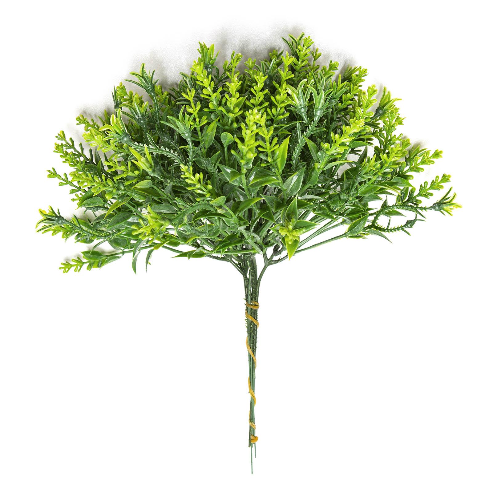 Planta Artificial 3D Permanente Verdinho Pick  26cm