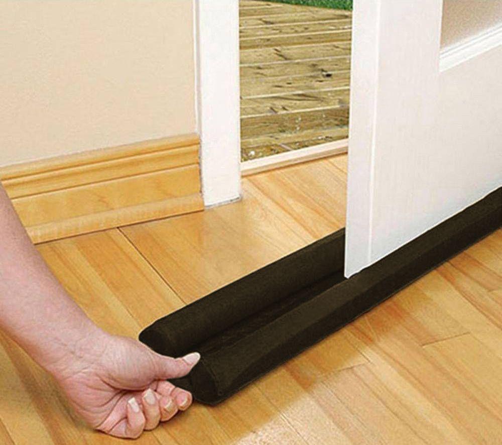 Protetor de Porta Veda Portas Kit com 2 Unidades Marrom Escuro 80cm
