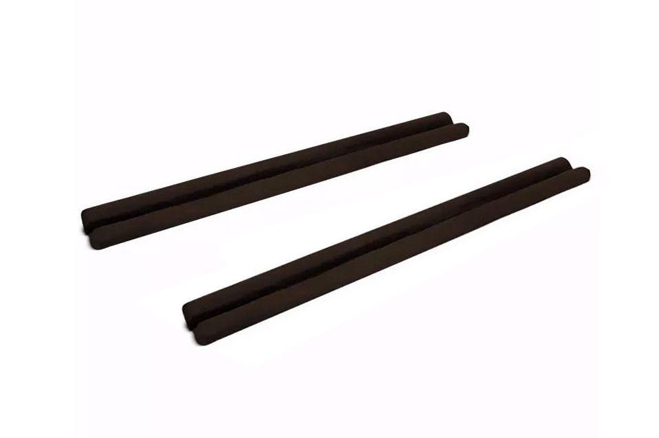 Protetor de Porta Veda Portas Kit com 2 Unidades Marrom Escuro 90cm