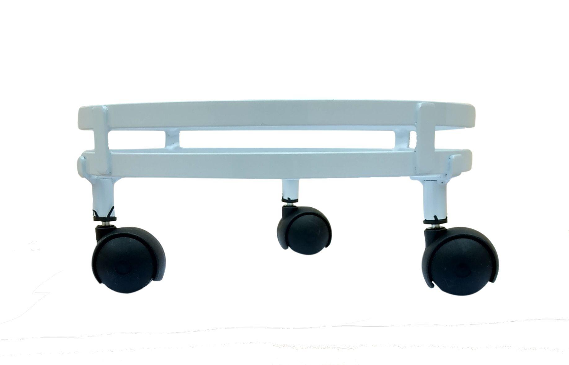 Suporte de Botijão de Gás Com Rodas Resistentes