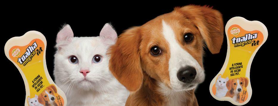 Toalha Higiênica Mágica Linha Pet Fixxar Para Bichinhos de Estimação