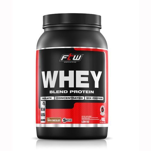 Whey Protein Blend Chocolate 900g FTW