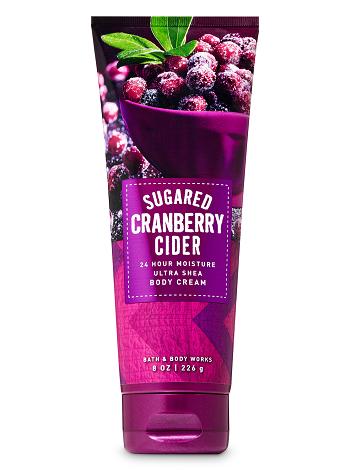 Body Cream - Sugared Cranberry Cider