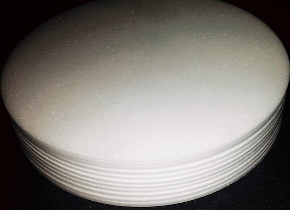 Base de Isopor 25,5 cm com 10 unidades