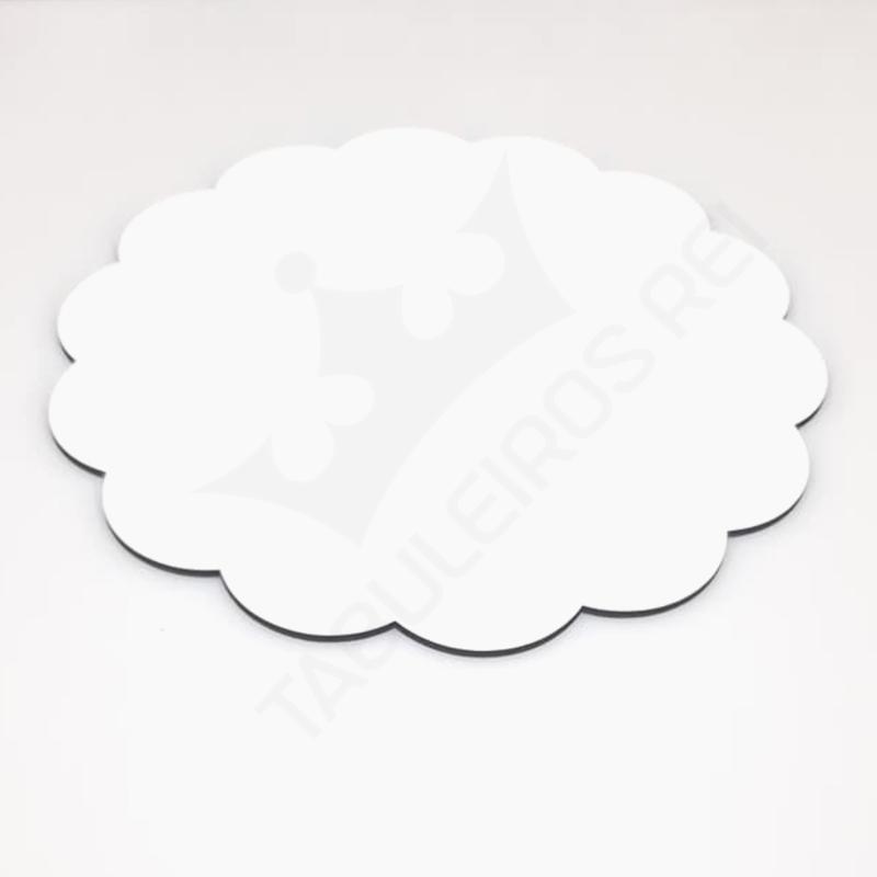 Cake board em MDF  decorado de 30 cm - 3 mm - 10 peças - TABULEIROS REI