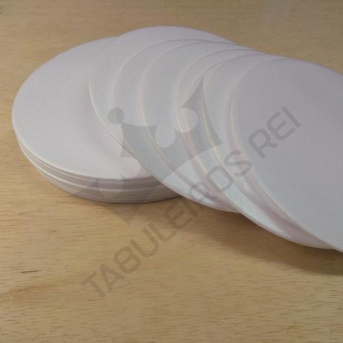 Conjunto de bases de isopor para bolo  16 cm + 21 cm + 26 cm + 31 cm + guia de 31 cm