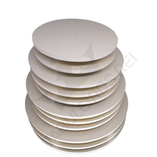 Kit com 10 tábuas ( 25 cm e 30 cm ) Redondas