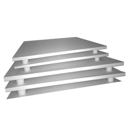 Kit com 4 tábuas retangulares para bolo 2