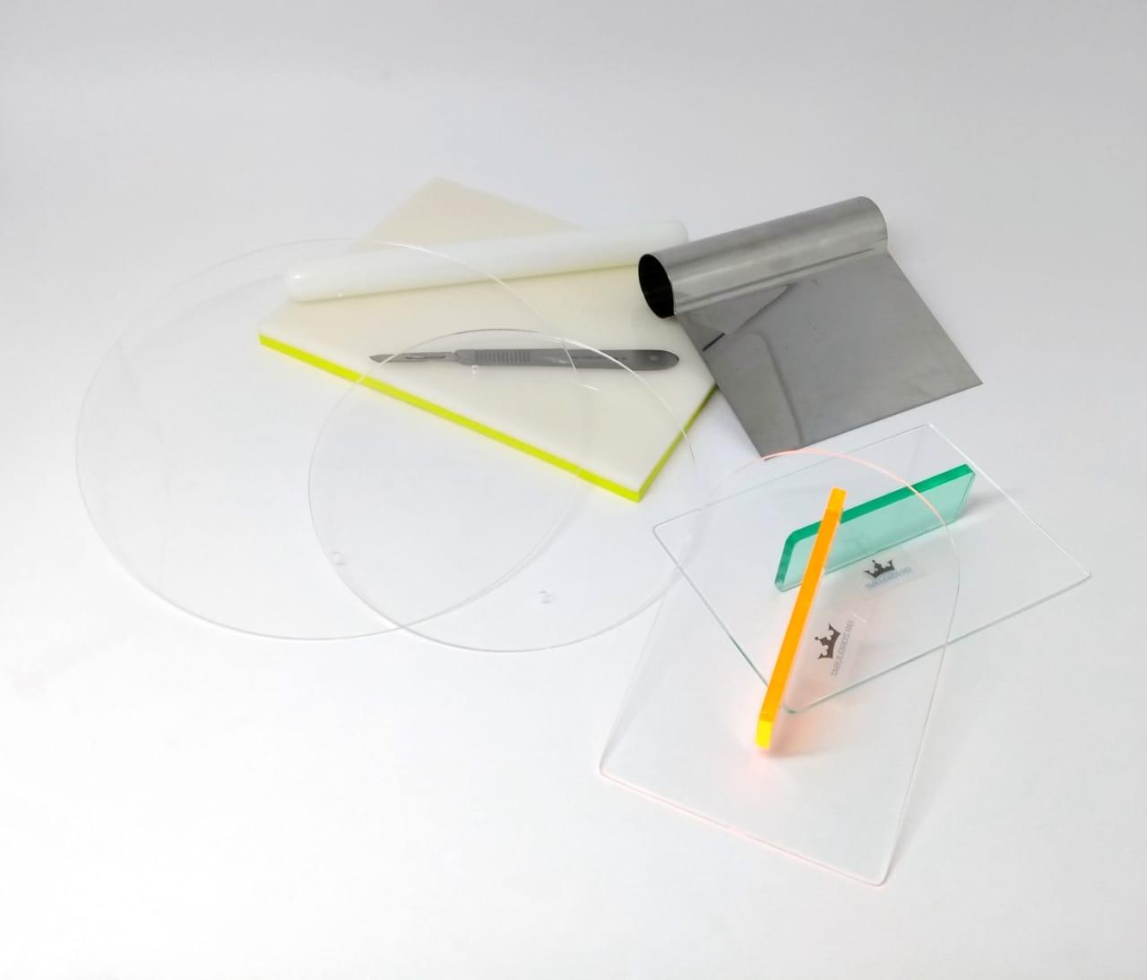 Kit completo para cake design