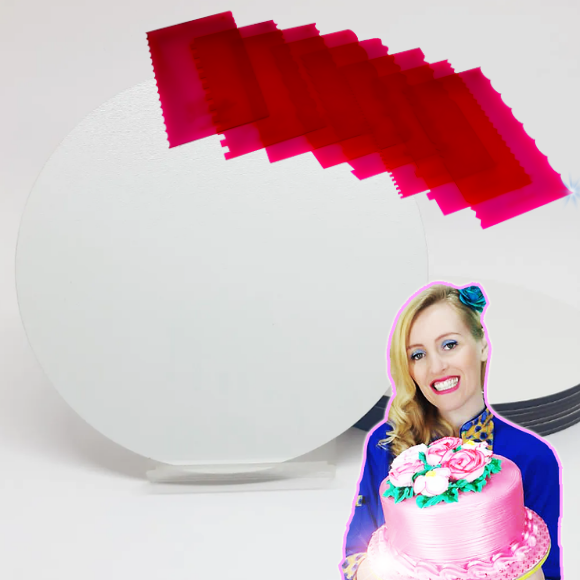 Kit tathi Cake boards + espátulas Fabulosas