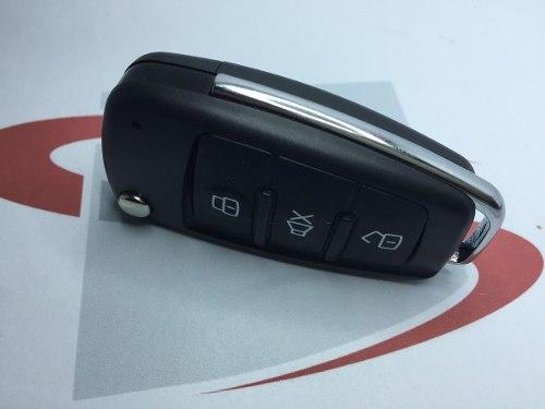 Chave Canivete Modelo Audi Hcs Alarme Positron Px 300 Novo