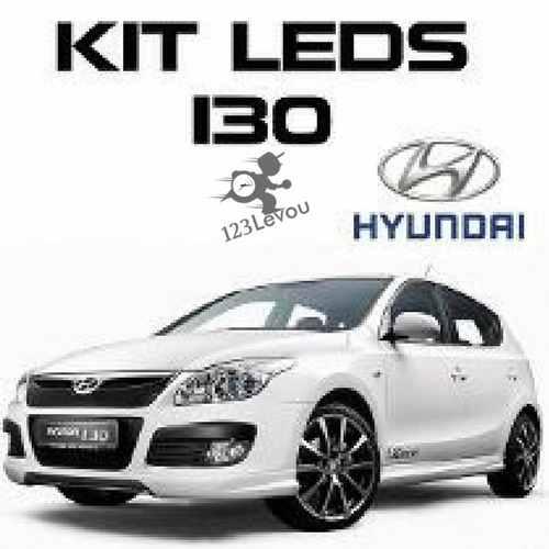 Kit Lâmpadas Led Hyundai I30 Placa Teto Luz De Ré Porta Mala