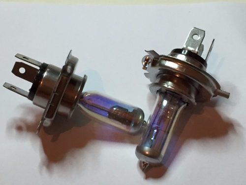 Lâmpadas H4 Mod Efeito Camaleão Multicolor 55w 2 Unidades