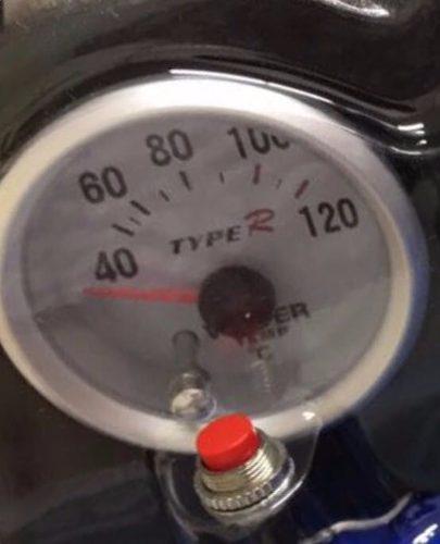 Coluna Painel Manômetro Conta Giro Rpm Oleo Temperatura Agua