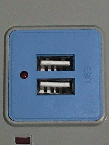 Extensão Elétrica Filtro De Linha Régua 7 Tomadas E 2 Usb