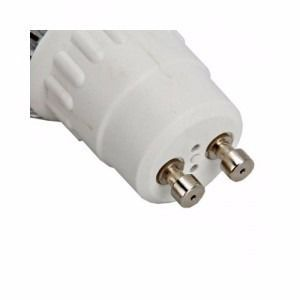 6 Unidades Lâmpada Led Dicróica 5w Gu10 Bivolt Branco Quente