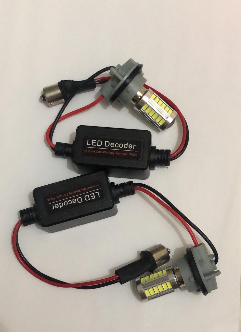 Kit 2 Lampada 33 Led Resistores Canceller Canbus 1156 Ré 10w