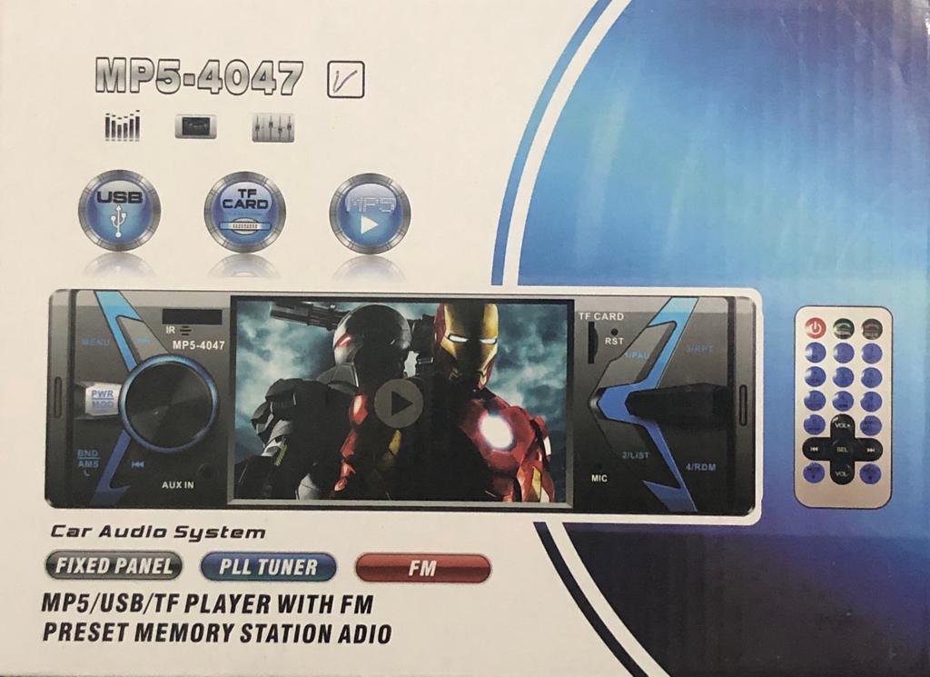 Rádio Mp5 Bluetooth Vídeo Player Lcd 4 Fm Usb Sd + Camera Re