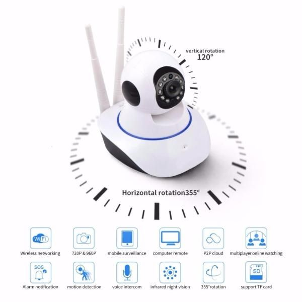Robo Câmera Ip Ahd Alta Definição P2p Micro Sd Jortan Wi-fi