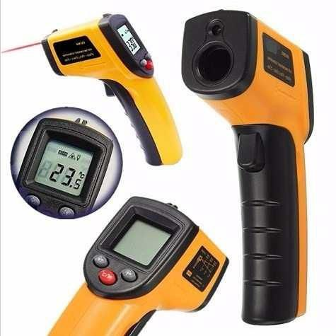 Termômetro Laser Digital Infravermelho Temperatura -50º 380