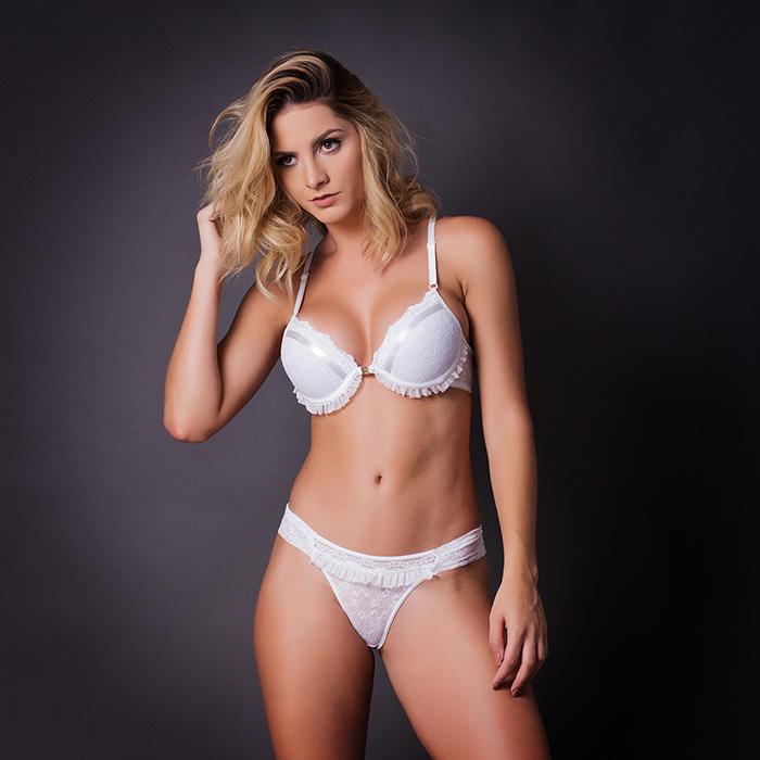 Conjunto lingerie bojo nadador com renda 1045 - Conjuntos - Astienne ... 99b42a0b882