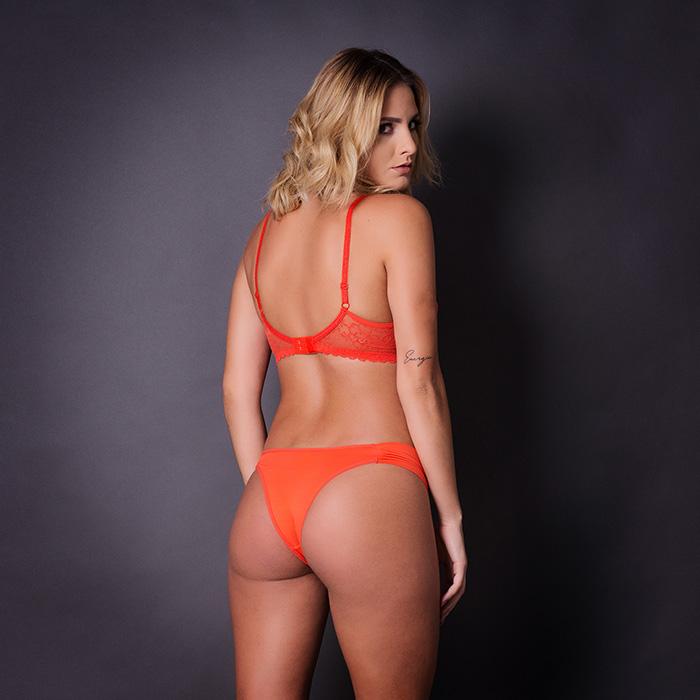 Conjunto lingerie com renda 1040