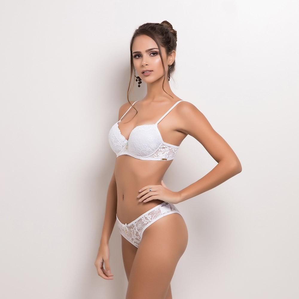 Conjunto lingerie laise com bojo 1092