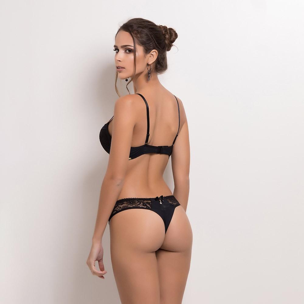 Conjunto lingerie laise com bojo 1093