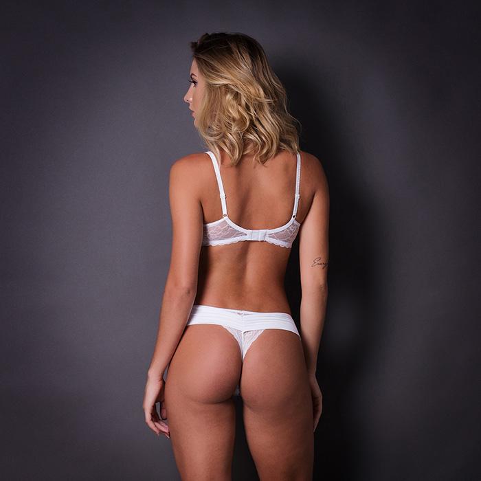 Conjunto lingerie renda com bojo 1043