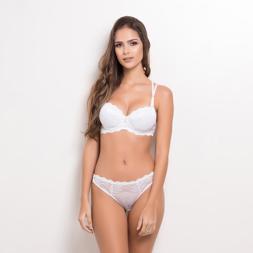 Conjunto lingerie renda com bojo 1081 - Conjuntos - Astienne Lingerie 51dc07fbf7a