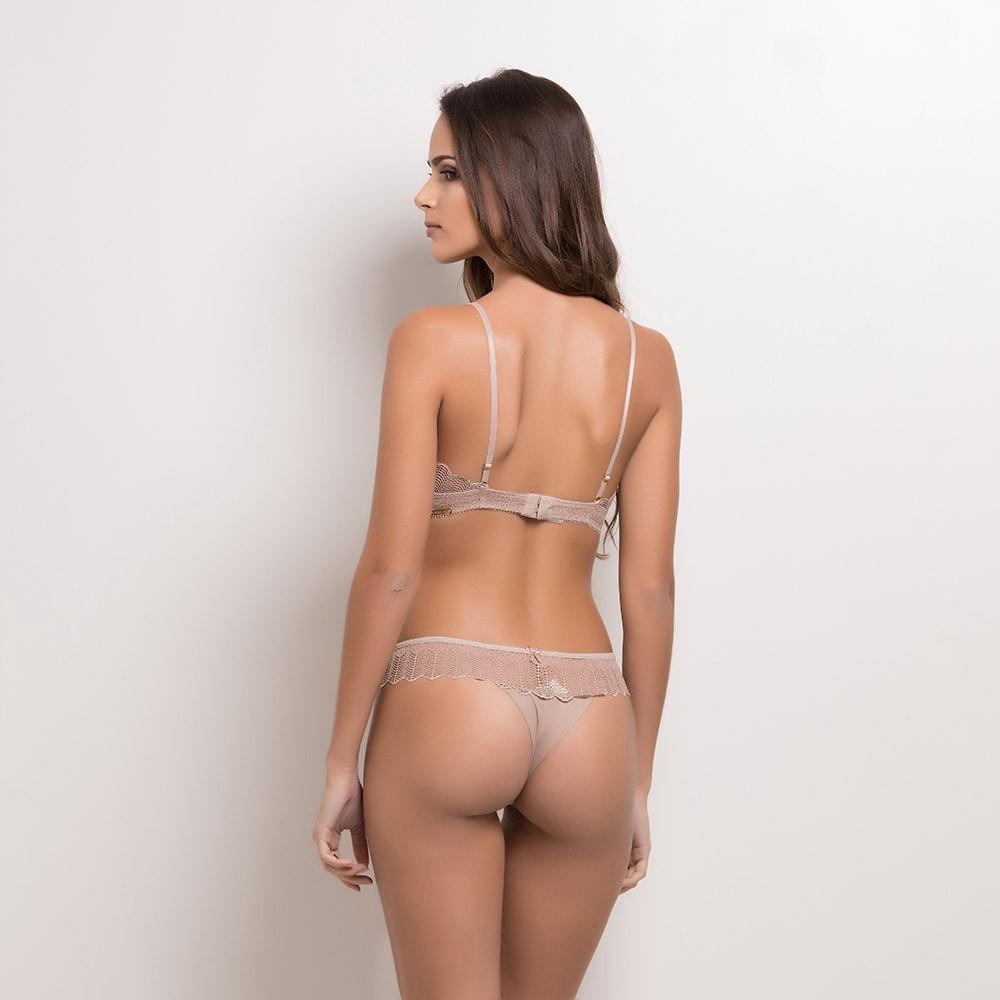 Conjunto lingerie sem bojo 1087
