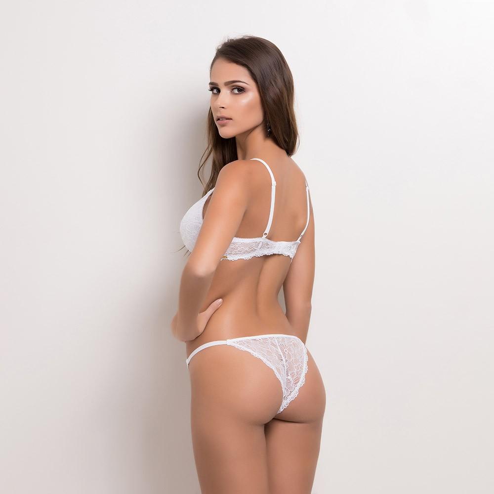Conjunto lingerie sem bojo com aro 1102