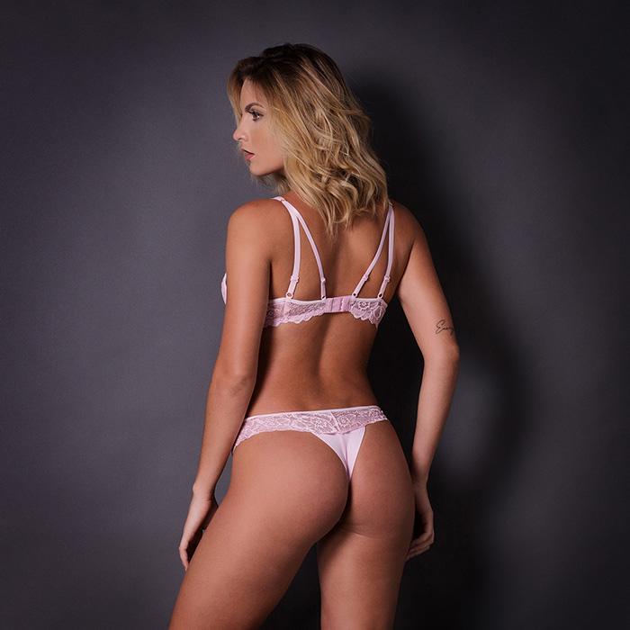 Conjunto lingerie strappy bra 1055